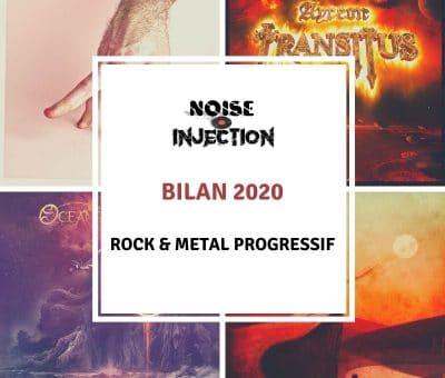 BILAN 2020 Rock et Metal Progressif